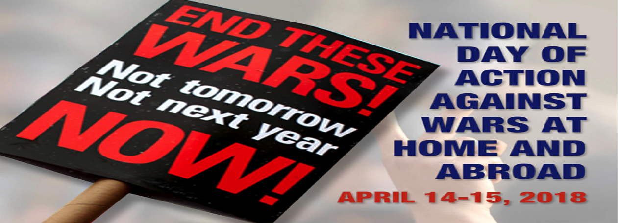 April 15 National Day of Action Against War